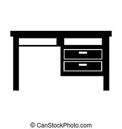 机, オフィス家具