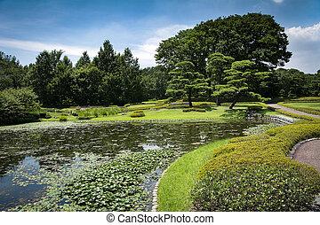 東京, 宮殿, 日本の庭, 帝国