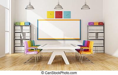 板, カラフルである, 部屋
