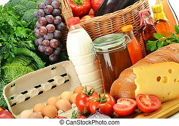 枝編み細工, 野菜, 食料雑貨, 成果, バスケット, 含む