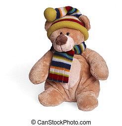 柔らかい, 熊, テディ