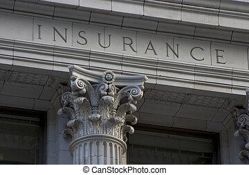 柱, 保険