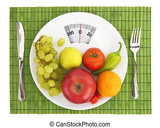 栄養, 食事