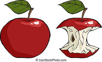 核心, アップル