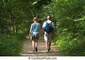 森林地帯, 歩きなさい