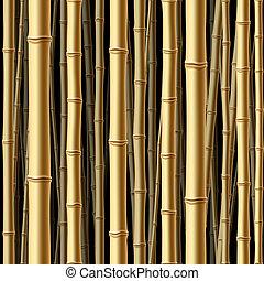 森林, seamless, 竹