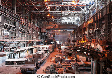 植物, ワークショップ, metallurgical