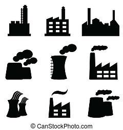 植物, 工場, 力