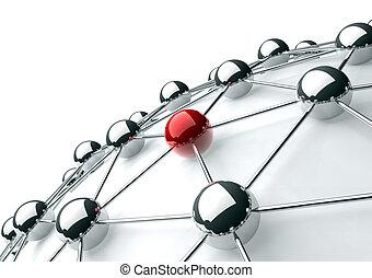 概念, ネットワーキング, インターネット