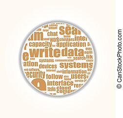 概念, 単語, のように, 媒体, -, タグ, 社会, 雲