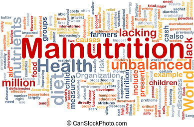 概念, malnutrition, 背景