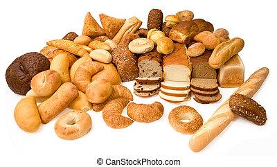 様々, タイプ, bread