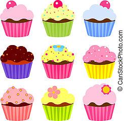 様々, cupcake