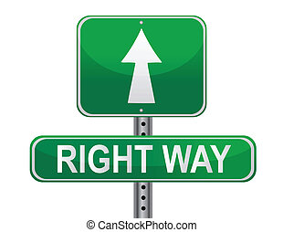 権利, 通り, 方法, 印