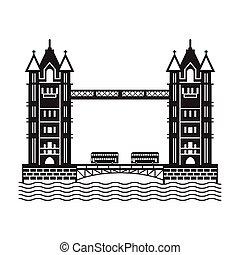 橋, ロンドン, アイコン