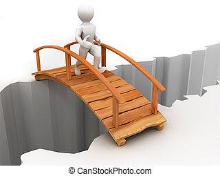 橋, 横切って, 峡谷