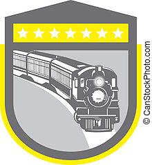 機関車, 列車, 蒸気, レトロ, 保護