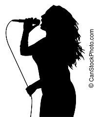 歌うこと, 女性