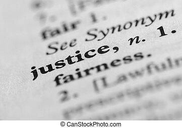 正義, シリーズ, -, 辞書
