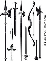 武器, 中世, コレクション