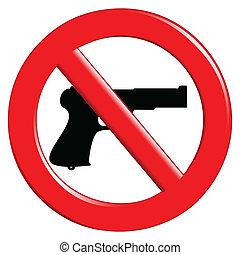 武器, 禁止された, 印