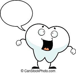 歯, 漫画, スピーチ泡