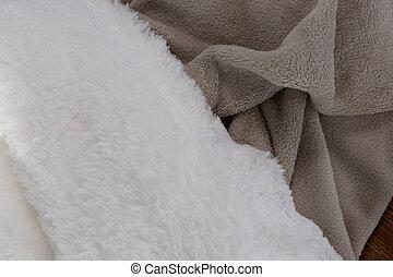 毛布, クローズアップ