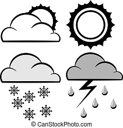 気象学, アイコン