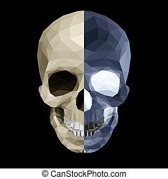 水晶, 色, 2, 頭骨