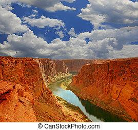 水, 峡谷, 始まり, 壮大