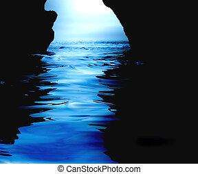 水, 洞穴