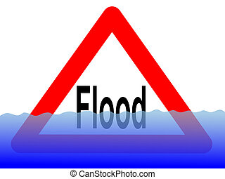 水, 洪水, 印