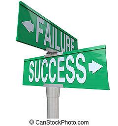 決定, よい, 成功, 指すこと, ある, 両方向である, 運命, 印, symbolizing, ひどく, 通り, 緑, 失敗, ∥間に∥, 十字路, ∥あるいは∥, 結果