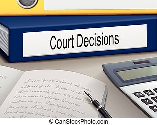 決定, 法廷, つなぎ