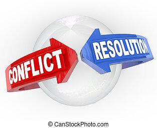 決心, 矢, 合意, 会いなさい, 決断, 対立, 論争