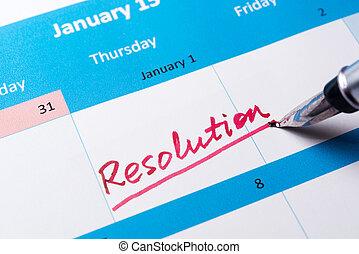 決断, カレンダー, 単語