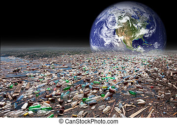 沈む, 地球, 汚染