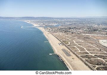 沿岸である, 航空写真, アンジェルという名前の人たち, los