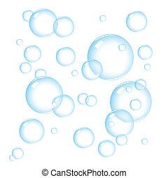 泡, 石鹸