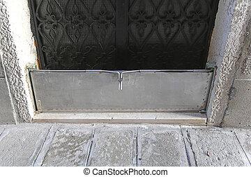 洪水, ドア, 障壁