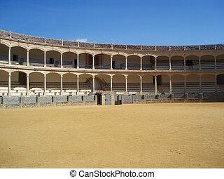 活躍の舞台, bullfighting