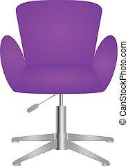 流行, 優雅である, 椅子, 現代, 快適である