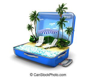 浜の 休暇, パッケージ