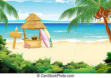 浜, 冷静