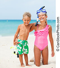 浜, 子供, 幸せ