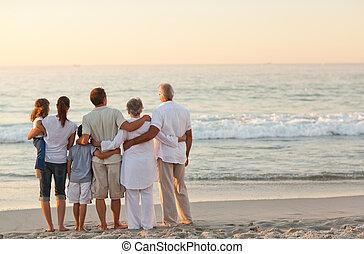 浜, 家族, 美しい