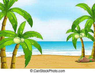 浜, 平和である