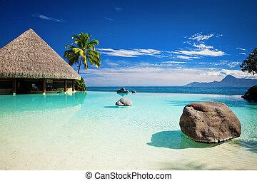 浜, 無限点, プール, 人工, 海洋