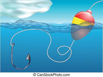 浮き, 釣り