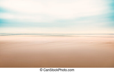 海景, 抽象的, ミニマリスト